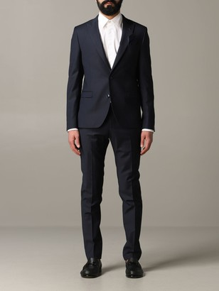 Manuel Ritz Single-breasted 2-button Suit