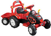 Lil' Rider The King Tractor & Trailer Ride-On