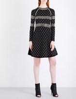 MICHAEL Michael Kors Studded stretch-knit dress