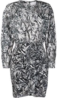 IRO Fenian printed midi dress