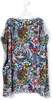 DSQUARED2 floral dress - kids - Cotton - 8 yrs