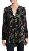 Free People Just the Two of Us Floral Printed Tunic