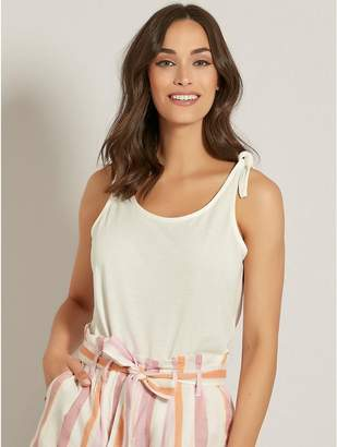 M&Co Vero Moda tie vest top