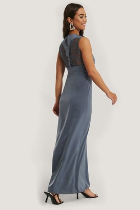 NA-KD Back Detail Maxi Dress