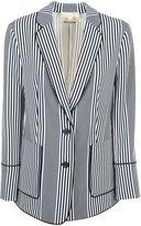 MICHAEL Michael Kors Striped Blazer