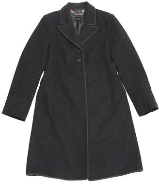 Marc by Marc Jacobs Anthracite Wool Coats