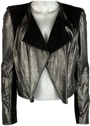 Fendi Gold Leather Jackets
