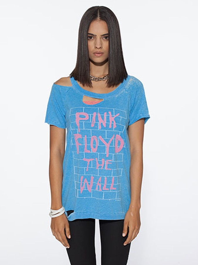 Chaser Pink Floyd The Wall Destroyed Tee In Cancun