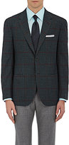 Sartorio Men's Checked Wool Two-Button Sportcoat
