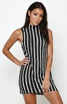 Motel Rocks Leid Striped Shift Dress