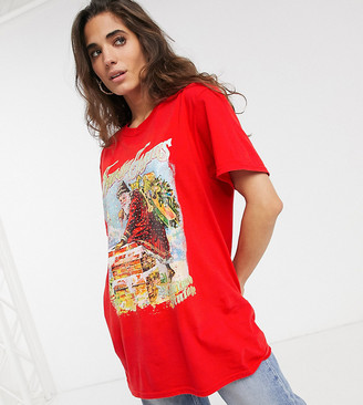 Reclaimed Vintage inspired Santa t-shirt