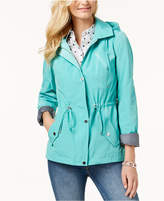 Charter Club Water-Resistant Hooded Anorak Jacket, Created for Macy's
