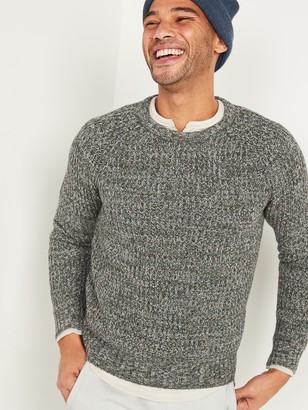 Old Navy Textured-Rib Fisherman Sweater for Men