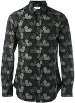 Ports 1961 star camouflage shirt - men - Cotton - 39