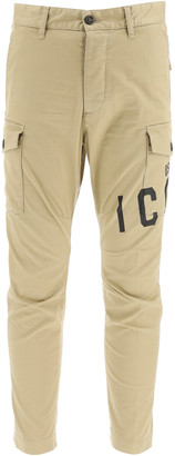 DSQUARED2 Sexy Cargo Twill Pants