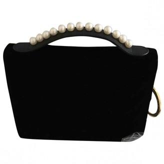 Mother of Pearl Black Velvet Handbags