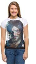 Walking Dead Daryl Dixon Face Junior's Sublimated Shirt