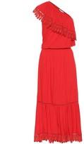 Melissa Odabash Jo one-shoulder midi dress
