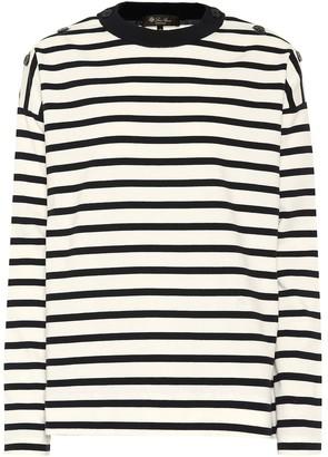 Loro Piana Striped cotton sweater