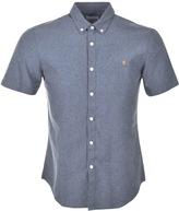 Farah Steen Slim Fit Shirt Blue