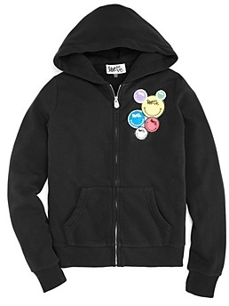 Butter Shoes Girls' Love Me Patch Hoodie - Little Kid, Big Kid