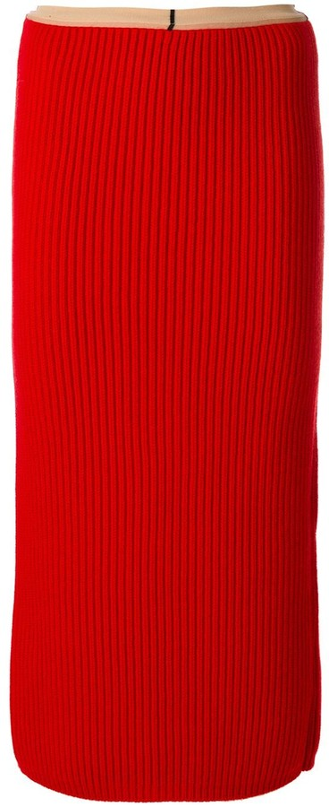 Calvin Klein Rib Knit Skirt