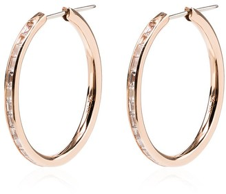 Spinelli Kilcollin 18kt gold Miri diamond hoop earrings