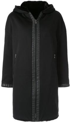 Fendi Pre-Owned hooded zip-up coat