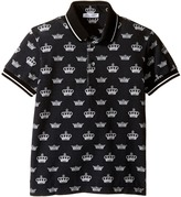Dolce & Gabbana Crown Polo Boy's Clothing
