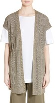Lafayette 148 New York Women's Knit Hemp Blend Vest
