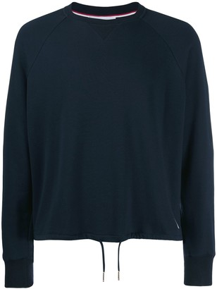 Thom Browne Drawstring Waist Sweatshirt