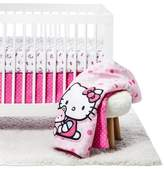 Hello Kitty Cute as a Button 3 Piece Bedding Set