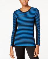 Calvin Klein Thermal Striped Top