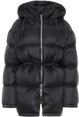 Acne Studios Hooded nylon down jacket