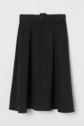 H&M Belted skirt