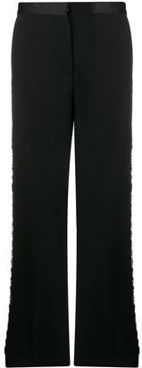 Versace Greca-chain tailored trousers