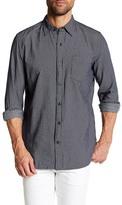 Joe Fresh Dotted Long Sleeve Standard Fit Shirt