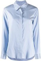 Alberto Biani striped button shirt