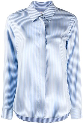 Alberto Biani Striped Button Shirt