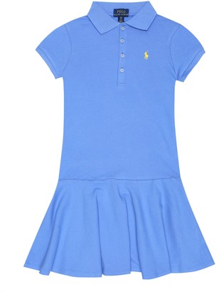 Polo Ralph Lauren Logo stretch-cotton polo dress