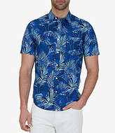 Nautica Tropical Print Short-Sleeve Woven Shirt