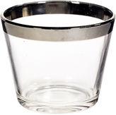 One Kings Lane Vintage Dorothy Thorpe SIlver Rim Ice Bucket
