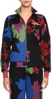 Tomas Maier Graphic Leaf Neoprene Jacket