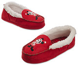 Disney Santa Mickey Mouse Slippers for Adults