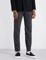 Camoshita Slim-fit wool-blend trousers