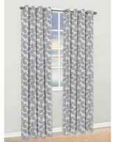 Famous Home Fashions Sun Valley Grey Window Curtain Panel
