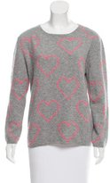 Chinti and Parker Cashmere Heart Sweater