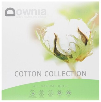 Downia Cotton Collection All Natural Quilt White