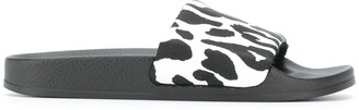 Marni Animal Print Sliders