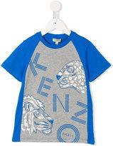 Kenzo logo print T-shirt - kids - Cotton - 2 yrs